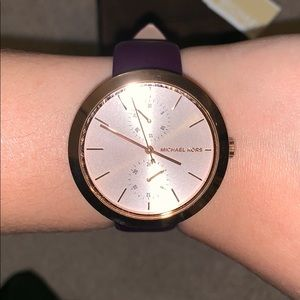 New Michael Kors watch! Worn once or twice